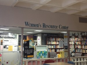 The Women's Resource Center educates the campus community about sexual assault. Photo by Madeline Power-Luetscher.