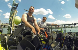 Faces of UWM: The Scuba Diver