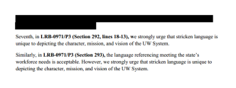 UW System Asked State in January to Restore Stricken Mission Statement Language