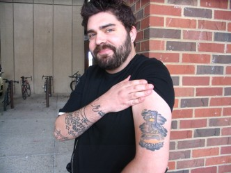 Faces of UWM: The Tattoo Man