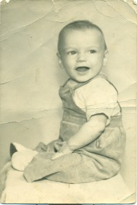 James Lenz as a young child. Photo obtained by Jordyn Noennig.