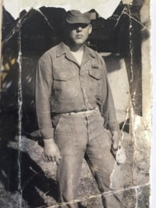 Robert Wisch in Vietnam. Photo provided by his sister.