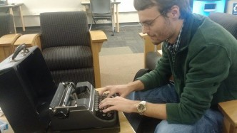 Faces of UWM: The Manual Typewriter Buff
