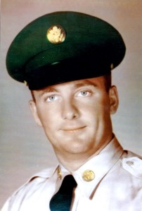 Pfc. Robert G. Mueller in his uniform when he graduated from his 6 month basic-training taken during the 1960s. Photo obtained from the family by Pakou Lee.