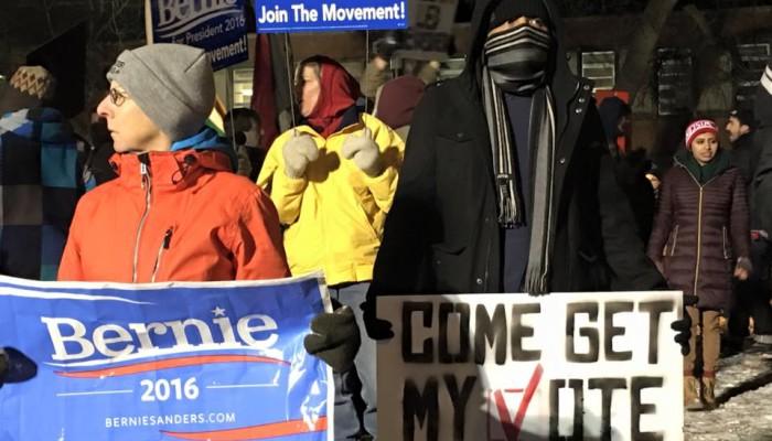Race a Focus at Democratic Debate at UW-Milwaukee