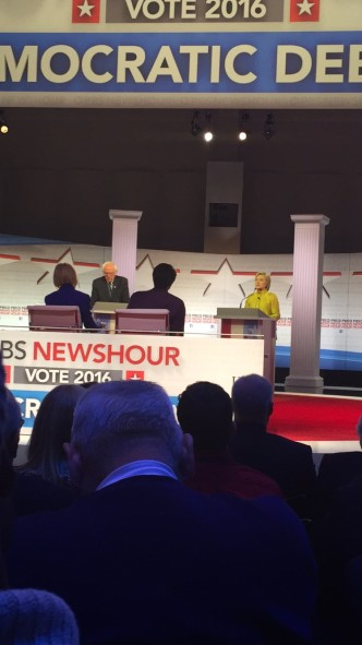 One of the Lucky 25: I Got Into the Dem Debate