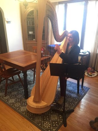 Faces of UWM: The Harpist