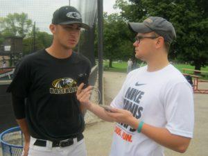 Keaton Walkowski Panthers baseball interview