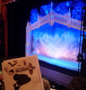 The Book of Mormon at the Marcus Center for the Performing Arts.