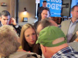 Chelsea Clinton Talks Youth Vote, Parenthood in Milwaukee