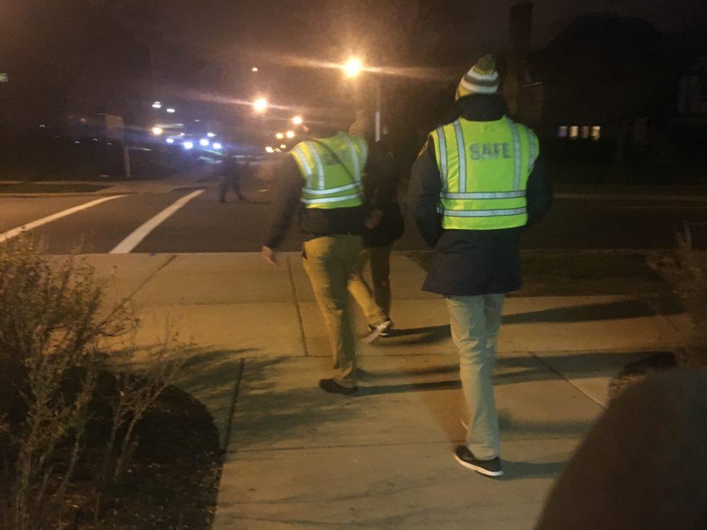 safe walkers, uwm crime