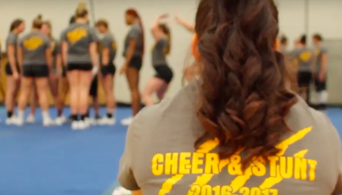 The Cheerleader Who Serves Her Country