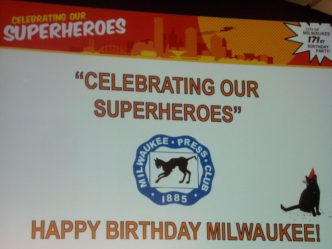 Milwaukee Celebrates its Superheroes
