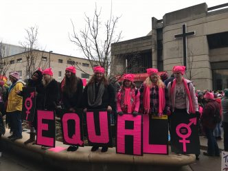 Women's March on Madison Draws Massive Crowd