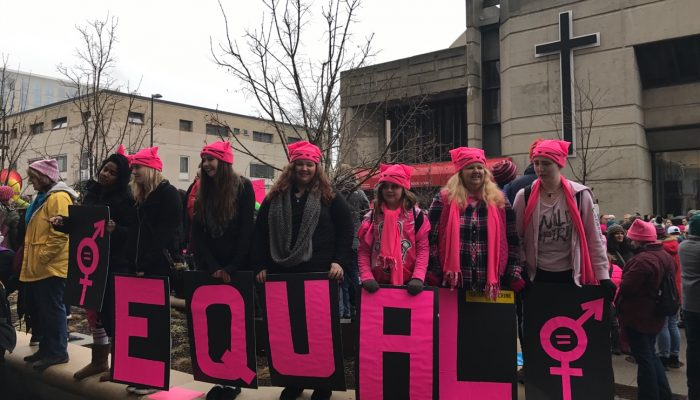 Women's March on Madison Draws Massive Crowd