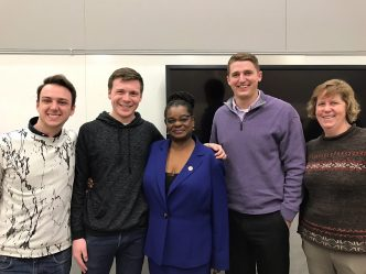 Gwen Moore Talks Milwaukee Housing, Trump at UW-Milwaukee