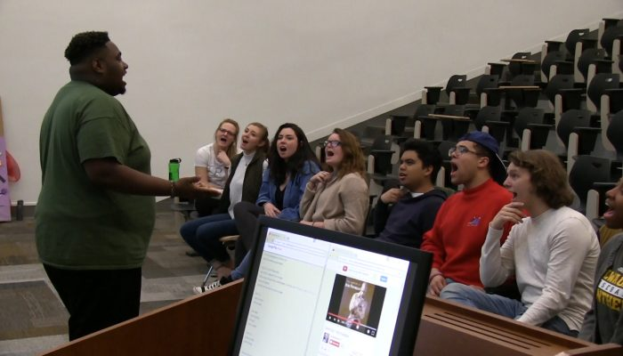 Local Music Lover Leads Choirs Around the City