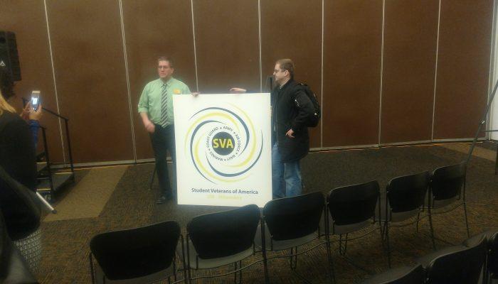 UWM Veterans Express Problems With Zablocki VA At UW-Milwaukee Town Hall
