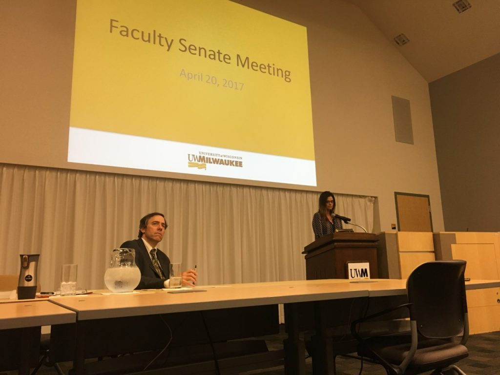 uwm faculty senate