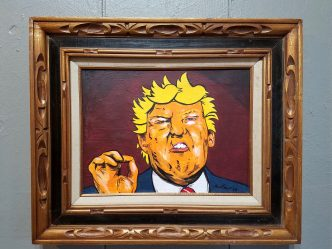 Satire, Frustration On Display in Trump Art Show