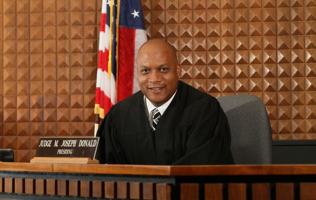 joseph donald, judge joseph donald