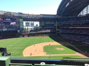 Milwaukee Brewers at Miller Park Stadium