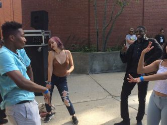 LIVE BLOG: Scenes & Sounds From the First Week on UWM's Campus