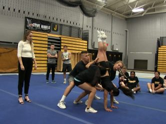 UW-Milwaukee Cheer & Stunt Team Prepares for Extensive Season (Video)