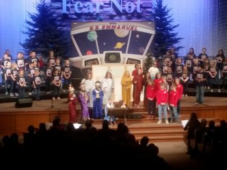 Children Raise Their Voices in Song to Celebrate Christmas (audio)