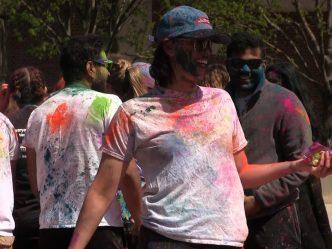 UWM Desi Student Association Celebrates Holi
